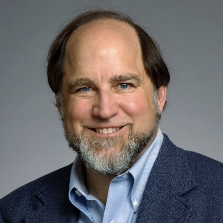 headshot of Ron Rivest, 2004 IACR fellow
